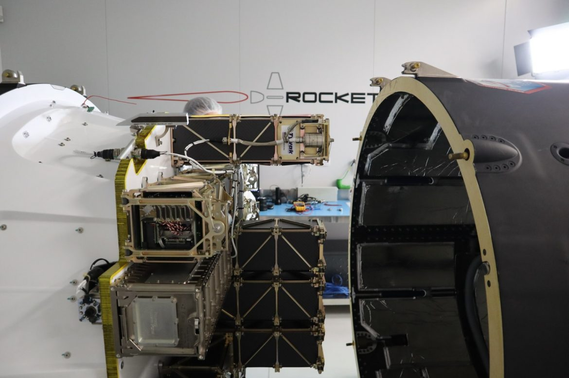 The lunar cubesats are on their way to the launchpad
