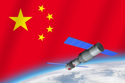 The Chinese spacecraft Tianzhou-3 docks with the Chinese space station